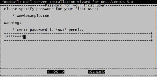 пароль для первого пользователя