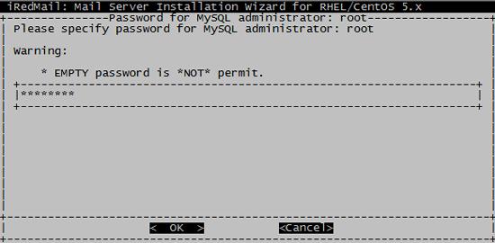 пароль на mysql