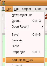 добавляем файл в систему