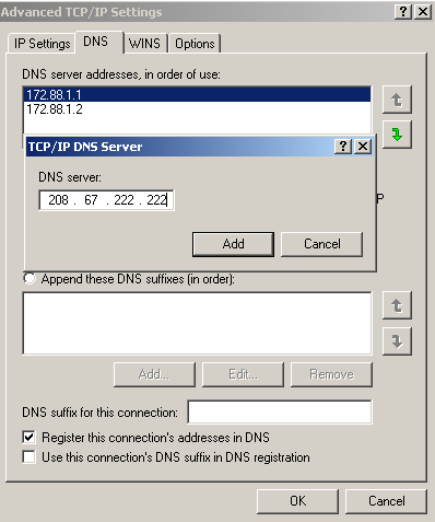 Setting Multiple Ip / Ip Alias in Windows XP